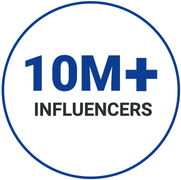 10M + Influencers